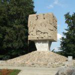 Złota Góra – Pomnik ku czci Partyzantów Kaszubskich