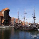Żuraw – zabytkowy dźwig portowy Gdańska nad Motławą